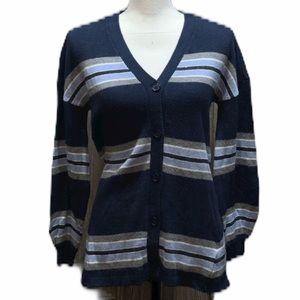 Democracy blue sweater